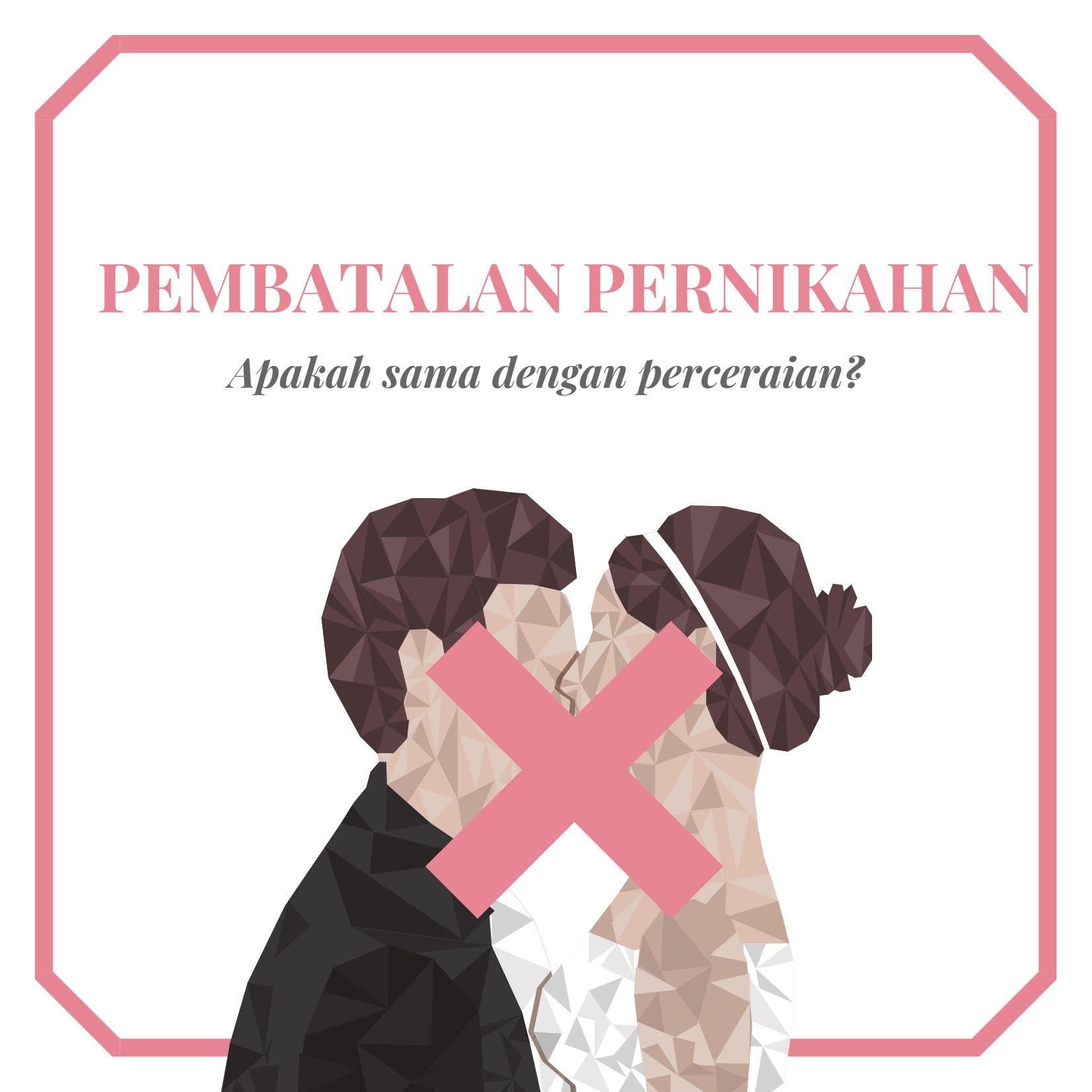 Pembatalan Perkawinan