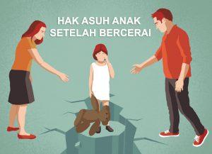 Hak Asuh Anak Setelah Bercerai
